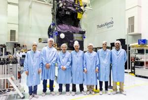 """A equipa da """"Critical Software"""" trabalhou em parceria com a ESA e a Thales Alenia Space na implementação dos sistemas de controlo a bordo do satélite"""