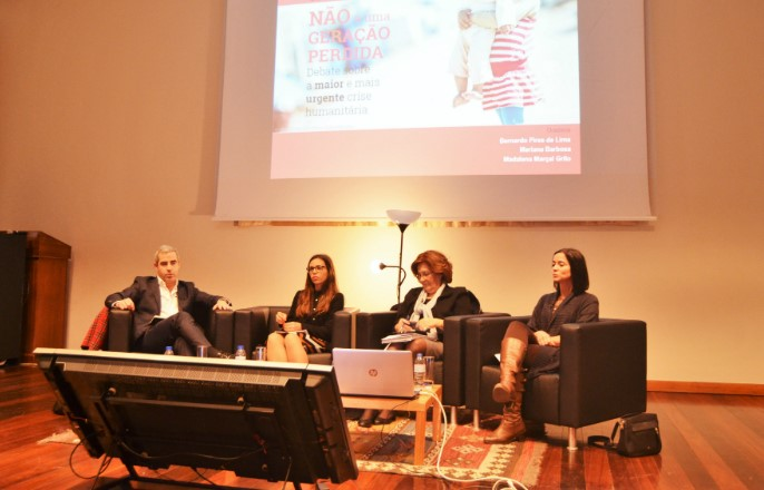 Sessão UNICEF na Universidade Católica