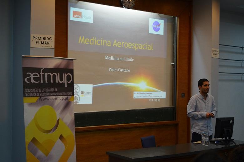 Pedro Caetano explicou o que é a Medicina Aeroespacial