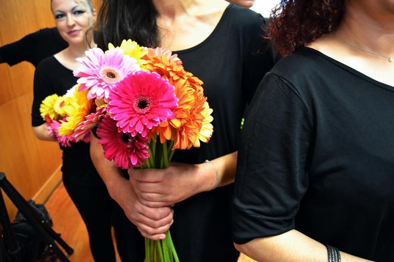 A visita da Secretária Adjunta e da Justiça marcou as celebrações do Dia da Mulher