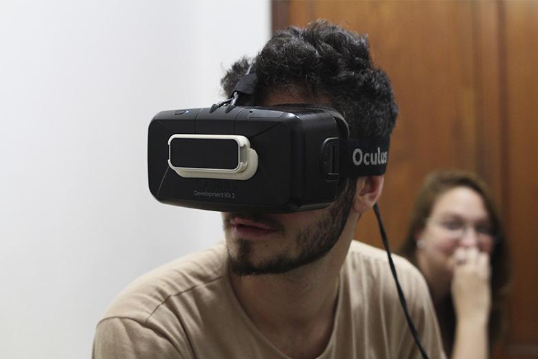 Os Oculus Rift prometem proporcionar uma experiência imersiva