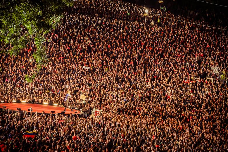 Uma das maiores bandas do planeta, os Rolling Stones em 2014 no RIR Lisboa