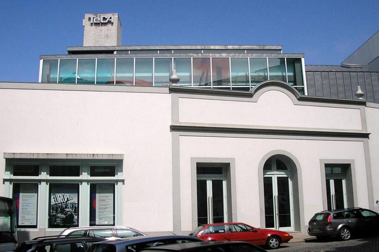 A fachada do Teatro Carlos Alberto vai ofrer uma intervenção artística