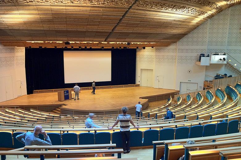 Aula Magna vai ser o palco do CineMundus.