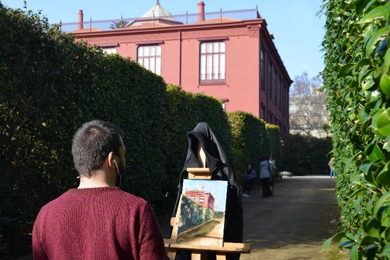 O Jardim Botânico foi um dos locais que acolheu a Semana das Camélias