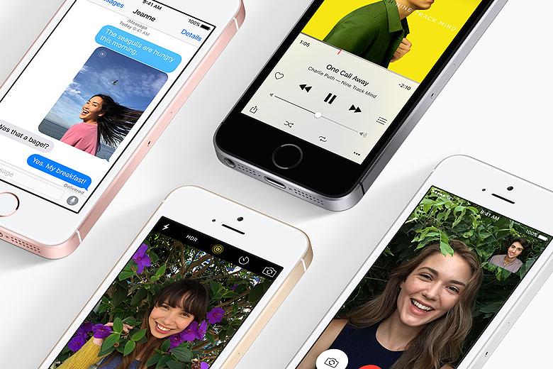 O iPhone SE foi apresentado na segunda-feira, na Califórnia