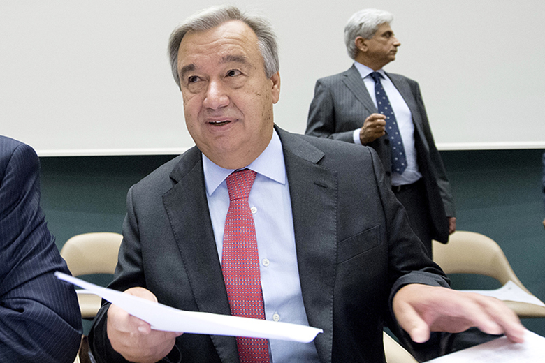 António Guterres está na corrida pelo cargo de secretário-geral da ONU