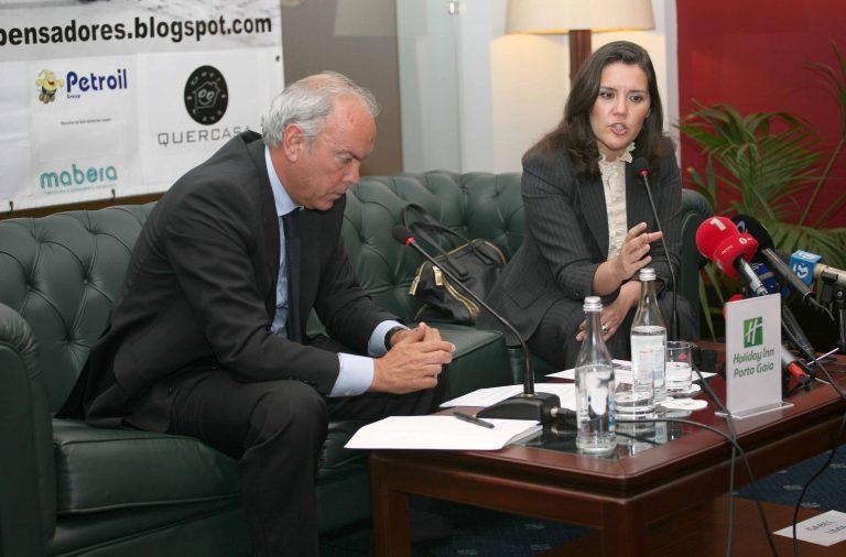 Assunção Cristas já marcou presença no Clube dos Pensadores, em 2012