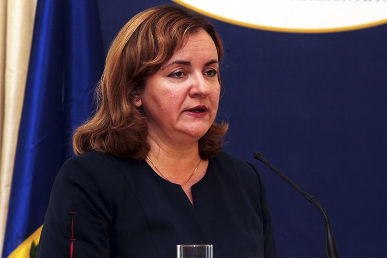 Natalia Gherman tornou pública a sua candidatura dia 19 de fevereiro