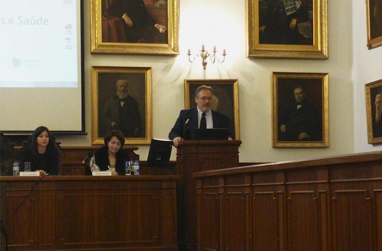 """Santino Severoni foi um dos convidados do Seminário """"Migrações e Saúde"""""""