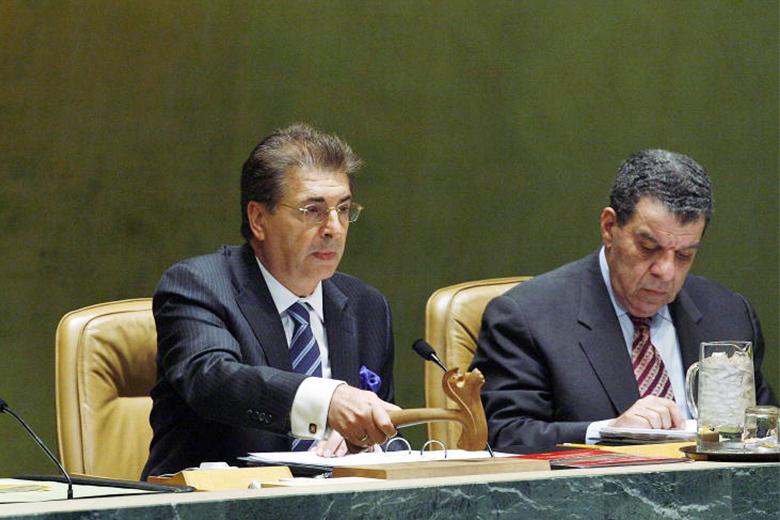 Srgjan Kerim tem já um longo percurso na diplomacia