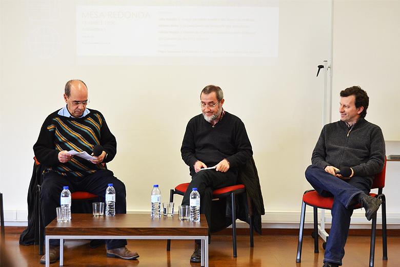 Alfredo Maia, Júlio Roldão e Hélder Bastos debateram o passado do jornalismo e os desafios do futuro