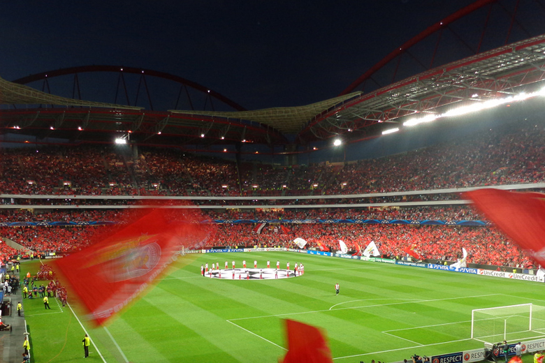 Estádio da Luz vai estar cheio para mais uma noite de Liga dos Campeões