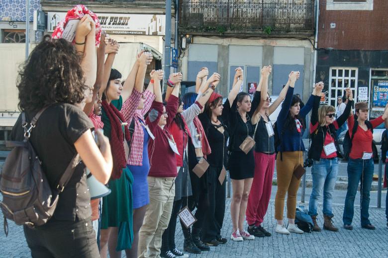 """A Avenida dos Aliados é o palco da manifestação """"Por Todas Elas"""", na quarta-feira, às 17h00."""