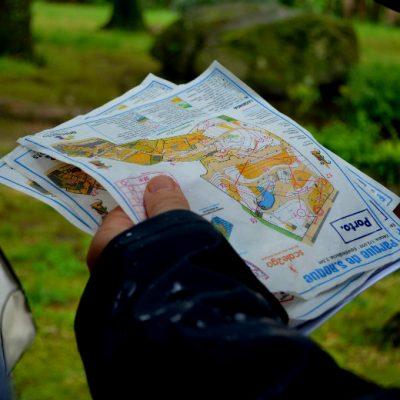 Fernando Costa, do Grupo Desportivo 4 Caminhos, explicou como utilizar os mapas de orientação.