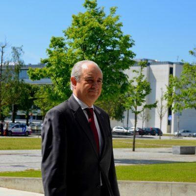 Rui Rio, ex presidente da Câmara Municipal do Porto, também marcou presença na inauguração do I3S
