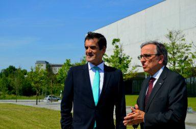 Presidente da Câmara Municipal do Porto com o Reitor da Universidade do Porto
