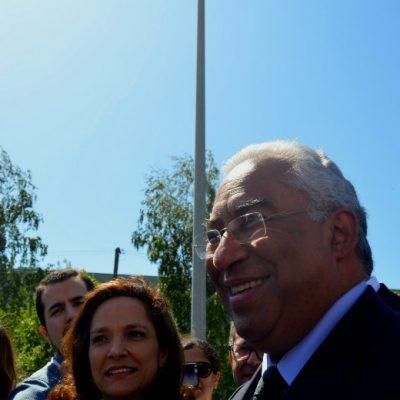 António Costa também marcou presença na inauguração do novo super laboratório