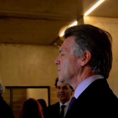 Claudio Sunkel, vice diretor do I3S também esteve presente