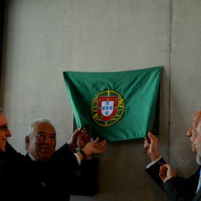 A placa foi inaugurada pelo Presidente da República, Primeiro Ministro, Diretor do I3S, Reitor da UP e O Presidente da Câmara Municipal do Porto