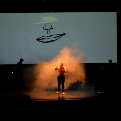 Capicua aqueceu o palco para Dealema