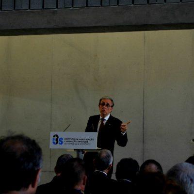 O Reitor da Universidade do Porto discursou na inauguração do I3S, no Porto