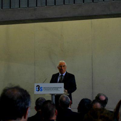 O Primeiro Ministro discursou na inauguração do I3S, no Porto
