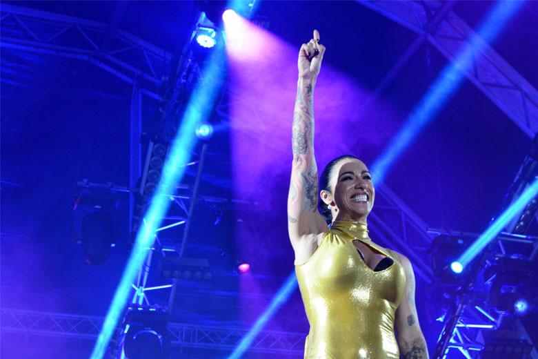 Ana Malhoa trouxe a sua inesgotável energia para a noite da Queima das Fitas Porto