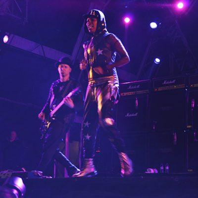 Skin, a vocalista da banda