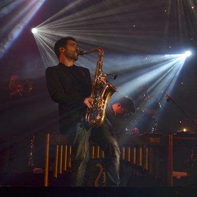 E claro, não podia faltar o saxofone