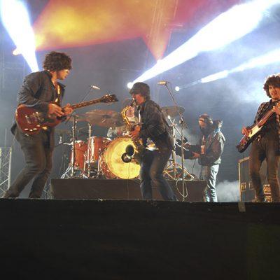 Os jovens encerraram a primeira noite dos concertos da Queima das Fitas 2016