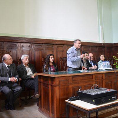 Manuel Lima, diretor da Escola Secundária Alexandre Herculano, marcou presença no evento