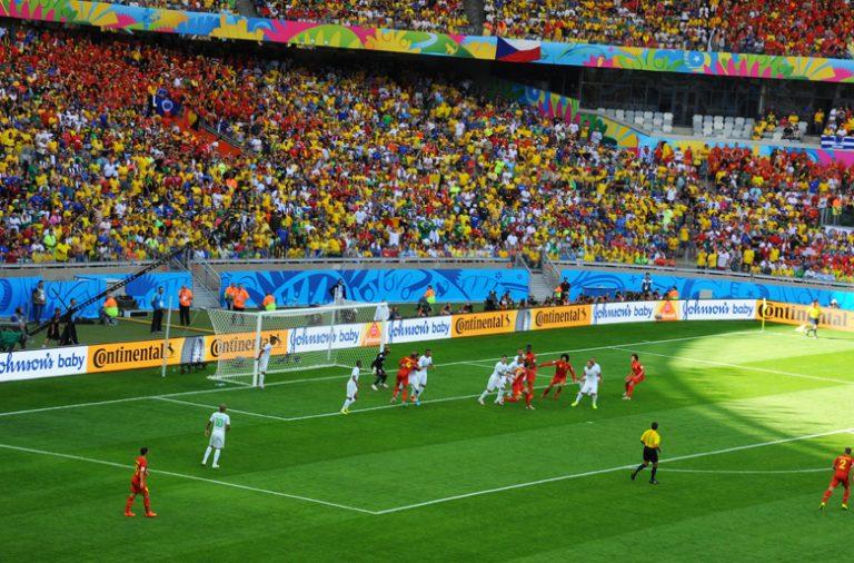 Os eventos desportivos são bastante utilizados nas campanhas publicitárias.