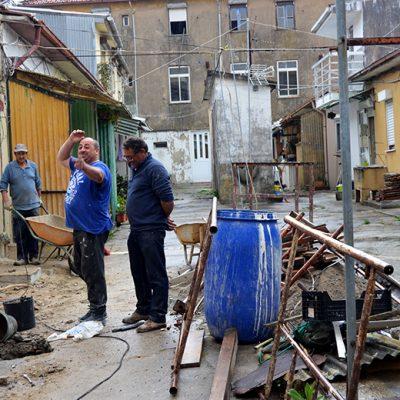 A obra dá esperança a esta ilha da rua dos Bragas. Ainda assim, o projeto de Maria é apenas uma ideia que para já não vai ser posta em prática