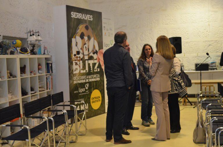 A apresentação da terceira edição do Bioblitz contou com a presença de Ana Pinho, Aires Pereira e Nuno Ferrand