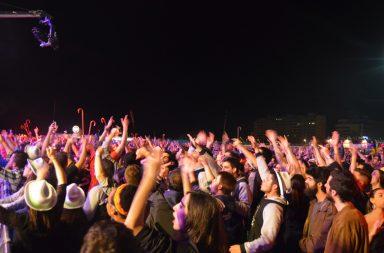 Milhares de jovens encheram o recinto da Queima das Fitas durante a primeira semana de maio.