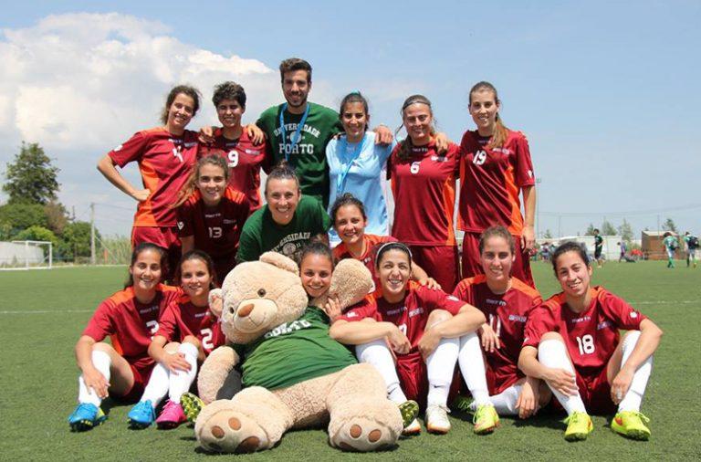 A equipa de futebol de 7 da Universidade do Porto já soma cinco campeonatos nacionais universitários.