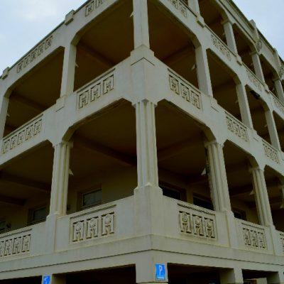 O Edifício Heliântia,que funciona agora como escola, começou por ser um sanatório
