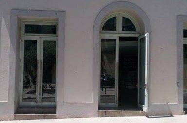A fachada do Teatro Carlos Alberto vai ter graffiti.