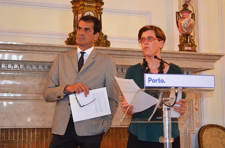 Rui Moreira e Cristina Pimentel apresentaram esta terça-feira o plano de Regeneração das Ruas do Porto.