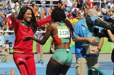 Pela primeira vez Portugal vai ter duas atletas na final do triplo salto.