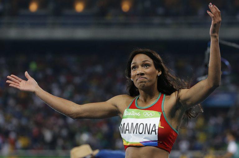 Patrícia Mamona bateu o recorde nacional do triplo salto.