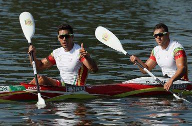 Emanuel Silva e João Ribeiro vão correr pelas medalhas esta quinta-feira.