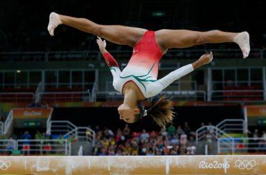 Filipa Martins foi 37ª no concurso geral da ginástica artística.