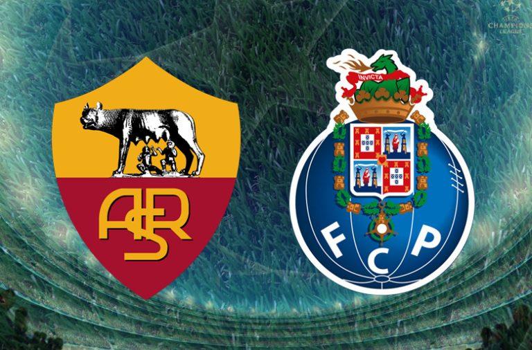 O FC Porto venceu a Roma por 3-0 esta noite em Itália.