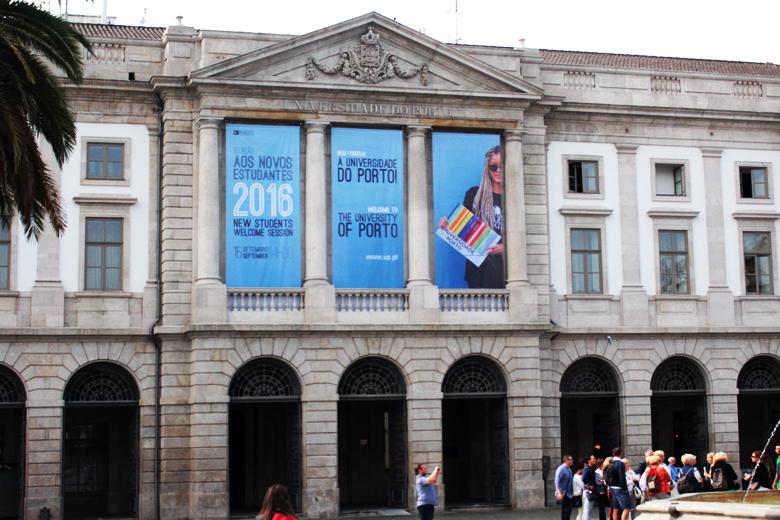 A U.Porto estima receber cerca de 4 mil alunos estrangeiros este ano.