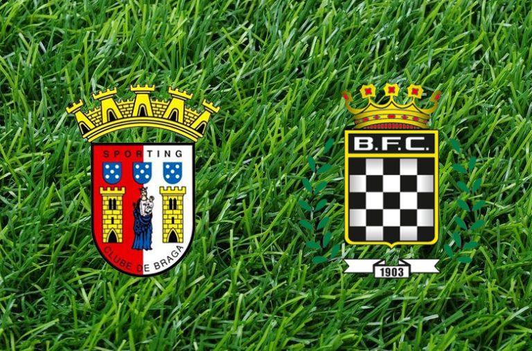 Com a vitória sobre o Boavista, o SC Braga alcançou o Benfica no 2º lugar.