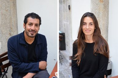 Nabeel Al-Raee e Micaela Miranda conheceram-se e casaram-se na Palestina.