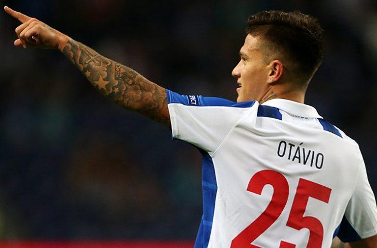 Otávio estreou-se a marcar pelo FC Porto.