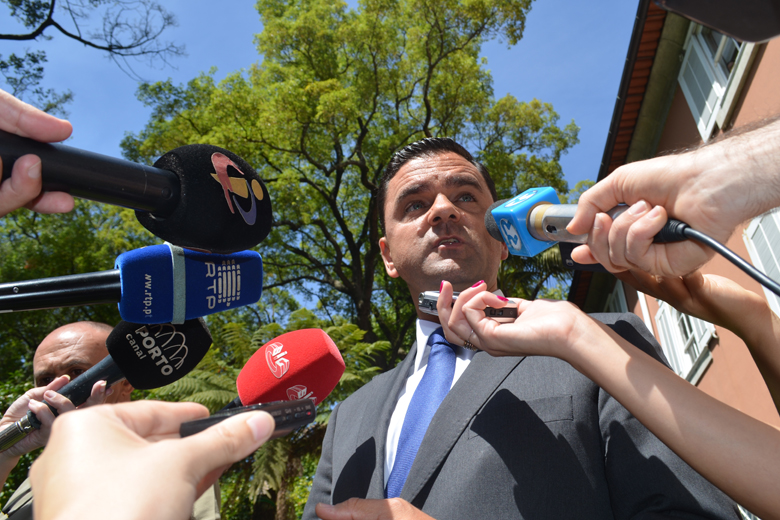 O ministro do Planeamento e das Infraestruturas, Pedro Marques, esteve esta sexta-feira no Porto.